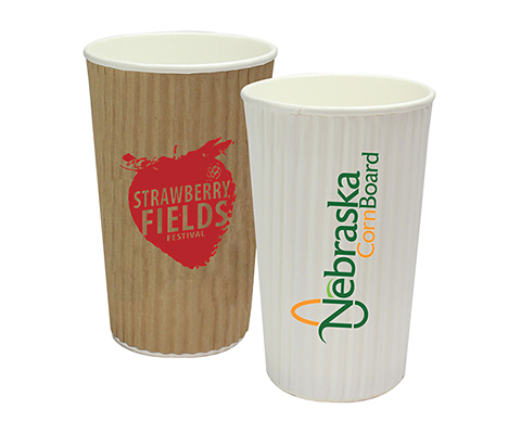 Rippled Java Paper Cup - 455ml