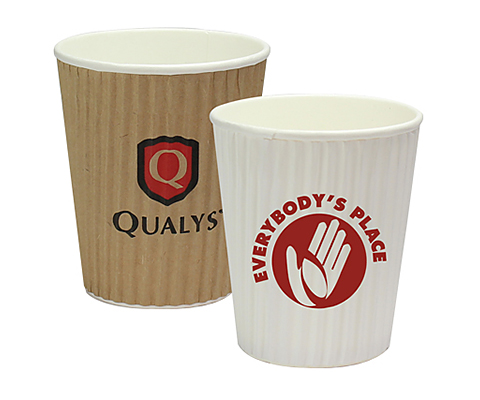 Rippled Java Paper Cup - 230ml