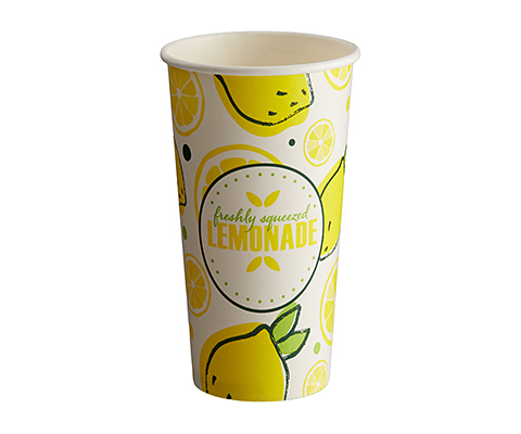Single Walled Barista Paper Cup - Full Colour - 455ml