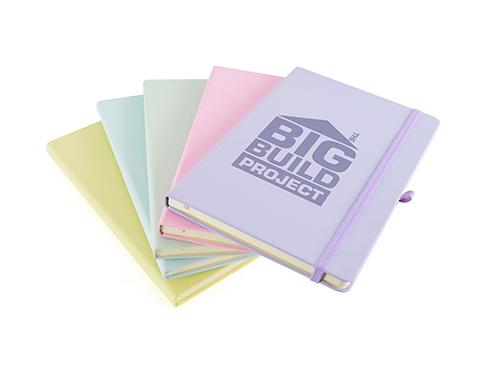 Phantom A5 Soft Feel Pastel Notebook