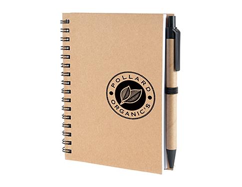 A6 Hamilton Natural Pocket Notebook & Pen