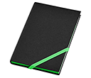 A6 Neon Edge Printed Notebooks  by Gopromotional - we get your brand noticed!