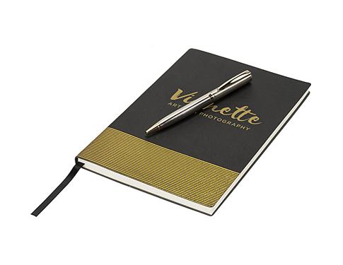 Luxe Midas A5 Luxury Notebook & Pen Gift Set