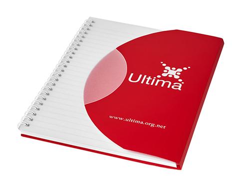 Curve A6 Notebook - White Wiro