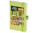 Nature Colour A6 Soft Feel Pocket Notebooks  by Gopromotional - we get your brand noticed!