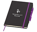 A5 Memphis Notebook & Contour Pens  by Gopromotional - we get your brand noticed!