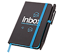 A6 Memphis Edge Notebook & Stylus Pens  by Gopromotional - we get your brand noticed!