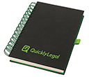 Orlando A5 Wiro Journal Notebooks  by Gopromotional - we get your brand noticed!