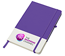 Colours A5 Notebooks  by Gopromotional - we get your brand noticed!