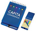 Skyline Jotter Notebooks  by Gopromotional - we get your brand noticed!
