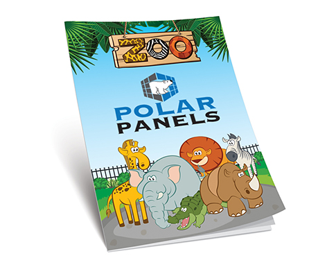 A4 Activity Colouring Book - Zoo