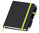 A6 Memphis Notebook & Contour Pens  by Gopromotional - we get your brand noticed!