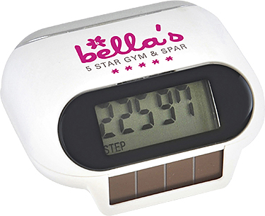 Solar Panel Pedometers