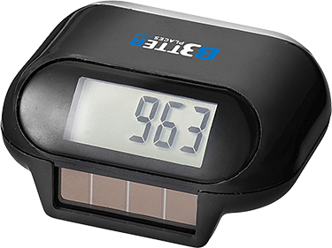 Steppa Solar Pedometers
