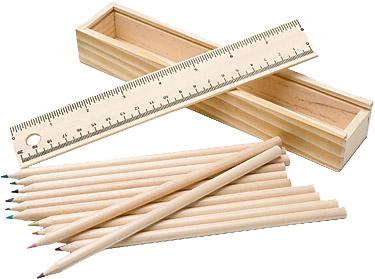 Carpenter 7 Piece Coloured Pencil Sets
