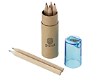 London 6 Piece Coloured Pencil Sets  by Gopromotional - we get your brand noticed!