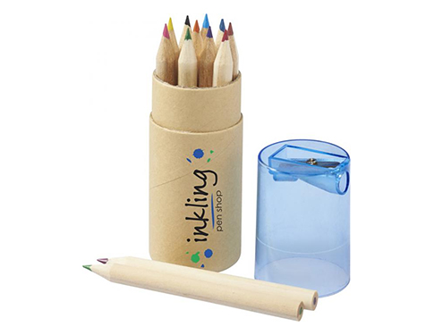 London 12 Piece Coloured Pencil Set