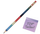 Rainbow Pencils  by Gopromotional - we get your brand noticed!