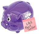 Super Saver Piggy Banks  by Gopromotional - we get your brand noticed!