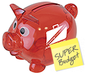 Piglet Mini Piggy Banks  by Gopromotional - we get your brand noticed!