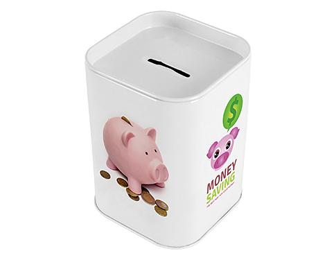 Saver Money Box Tin