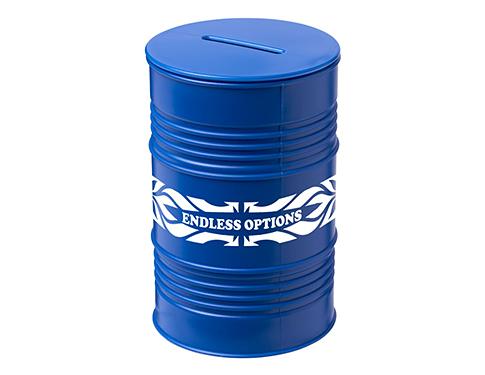 Oil Drum Money Box