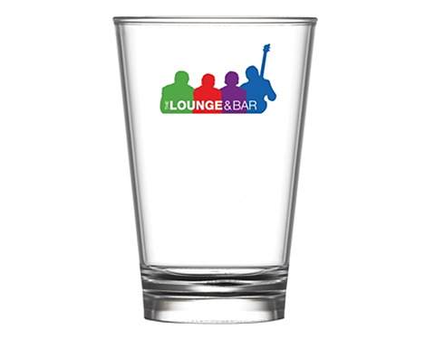 Reusable Conical Plastic Beer Glass - 213ml