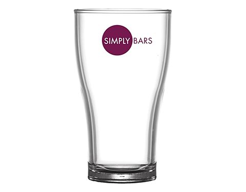 Event Reusable Conical Polycarbonate Pint Beer Glass - 568ml