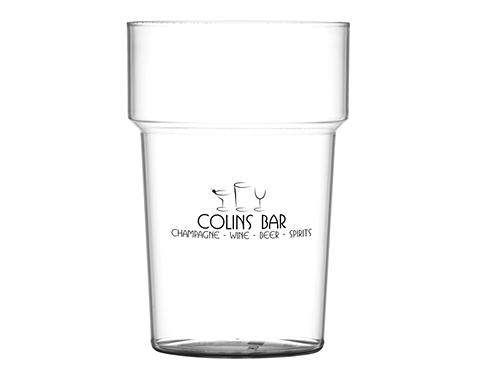 Festival Reusable Plastic Stackable Pint Beer Glass - 700ml