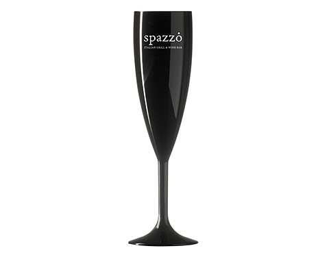 Reusable Polycarbonate Champagne Flute - 187ml