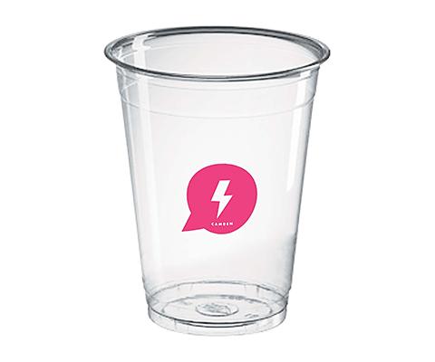 Festival Disposable PET Plastic Smoothie Cup - 270ml