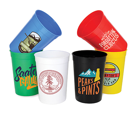 Olympic Plastic Stadium Cup - Half Pint - 340ml