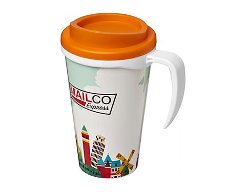 Americano ColourBrite 350ml Grande Travel Mug - White Handle