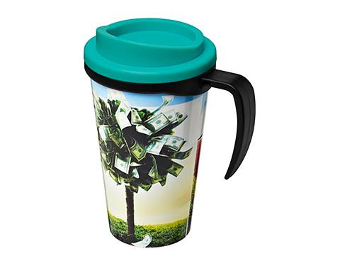 Americano ColourBrite 350ml Grande Travel Mug - Black Handle