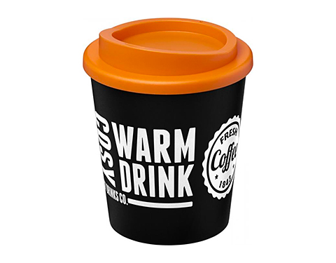 Americano Espresso 250ml Take Away Mugs - Black