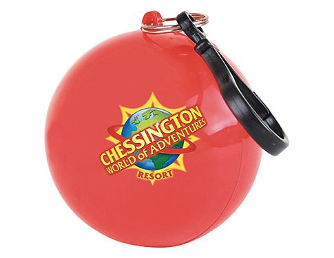 Rainbow Poncho Ball