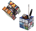 Rubik's Pen Pots  by Gopromotional - we get your brand noticed!