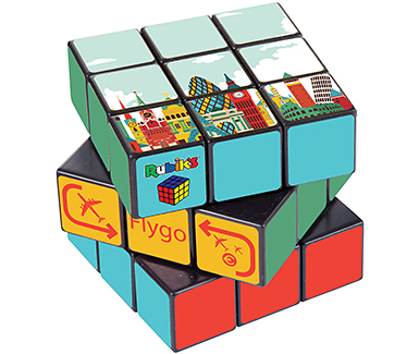 Promotional Classic Rubik S Cube Printed With Your Logo At