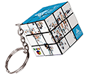 Rubik's Cube Keyrings  by Gopromotional - we get your brand noticed!