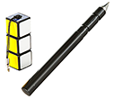 Rubik's Puzzle Pens  by Gopromotional - we get your brand noticed!