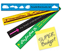 30cm ColourBrite Coloured Rulers  by Gopromotional - we get your brand noticed!