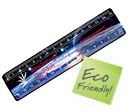 15cm ColourBrite Recycled Rulers  by Gopromotional - we get your brand noticed!