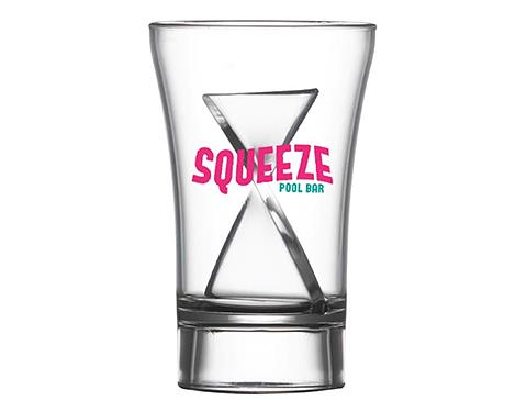 Twister Reusable 30ml Plastic Shot Glass