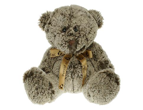 20cm Cocoa Bear With Bow