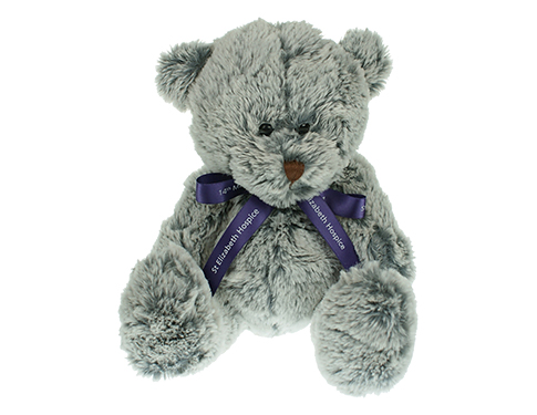 20cm Mulberry Bear With Bow