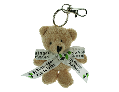 Toby Bear Keyring With Bow