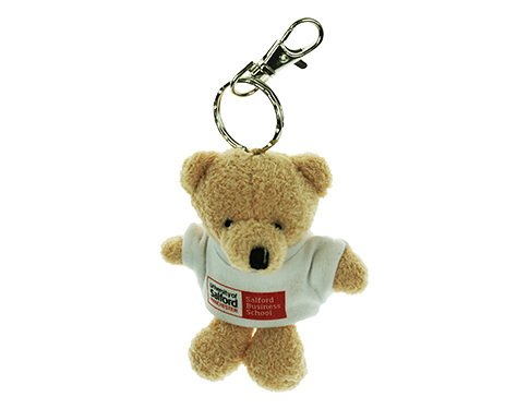Toby Bear Keyring With T-Shirt