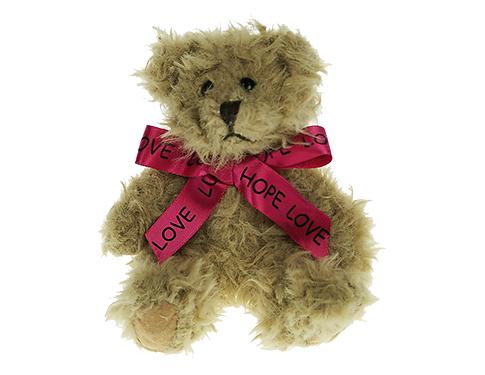 15cm Windsor Scruffy Bear With Bow