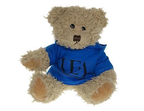 25cm Windsor Scruffy Bear With Hoodie