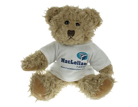 25cm Windsor Scruffy Bear With T-Shirt
